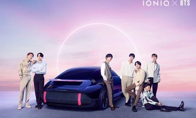 Hyundai X Bts Ioniq